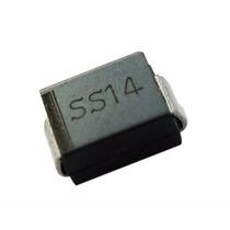 Diodo Sma Schottky Ss14 (1n5819) 40v 1a Do-214ac 10 Pzas