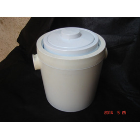 Balde Cooler Porta Gelo Revestimento Termico Tampa Branco