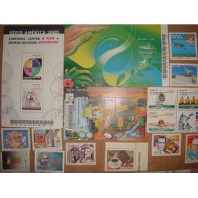 135 Selos - Brasileiros E De Rwanda