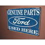 Placas Decorativas Carro Garagem
