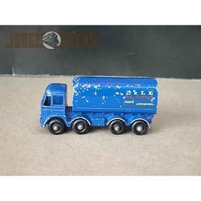 1/72 Lesney Nº 10 Caminhão Cargueiro Sugar Container Usado