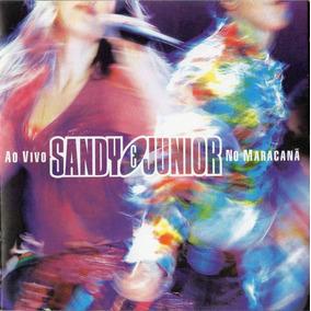 Cd Sandy & Junior Ao Vivo Maracanã - Duplo (raro)