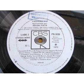Lp Cbs 6 Apresentado Por Rossini Pinto Diana Carlos Jose