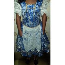 Vestido Cigana Para Crianças Ou Pré Adolescentes (b.a)