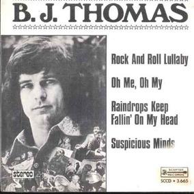 B.j. Thomas Compacto Vinil Suspicious Minds 1974 Stereo