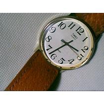 Timex 32mm Relogio Plaque Antigo - Joia Para Coleção