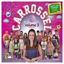 Cd Carrossel Volume 3 Remixes