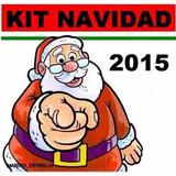 Kit Imprimible Patrones Para Navidad Arbol Luces Bota Muñeco