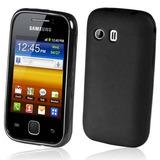 Capa Galaxy Y S5360 Silicone Gel Tpu Premium + Película