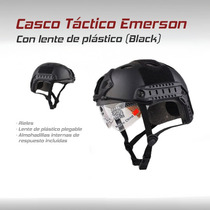 Casco Militar Emerson Tactico Bici Gotcha Paintball Airsoft