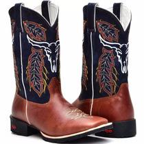 Bota Masculina Cano Alto Texana Cowboy Frete Grátis Promoção