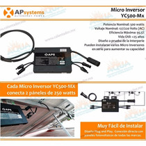 Kit Interconexion 2 Panel 250w Y Microinversor Aps Dual