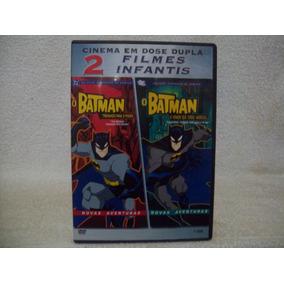 2 Filmes Em 1 Dvd Batman- Treinando Para O Poder & O Homem