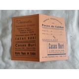 Casas Burí- Poços De Caldas- Propaganda Antiga