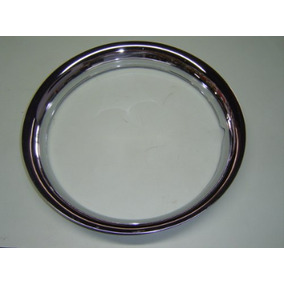 Sobre Aro P/ Roda 14 Maverick Metal Cromado 6 Cm Jogo