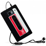 Capa Case Galaxy S2 I9100 S3 I9300 S4 I9400 Fita Cassete K7