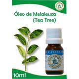 Kit Com 02 Óleos Essenciais: Tea Tree E Lemongrass