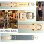 Tobillera Para Polea De Cuero Resistente...diseño Exclusivo