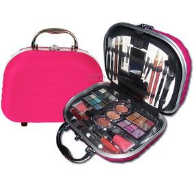 Maleta Frasqueira Maquiagem Profissional Fenzza Rosa Pink