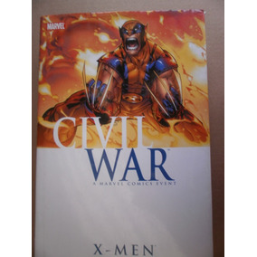 X-men Civil War Obra Completa En Ingles Un Volumen Marvel