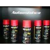 Pintura Stretch Aerosol Color Rojo Fluor Autoestetica