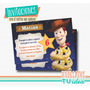 Toy Story Cumple - Invitación Woody Para Imprimir