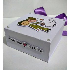 12 Caixas Convite Lembrancinha Casamento Padrinhos