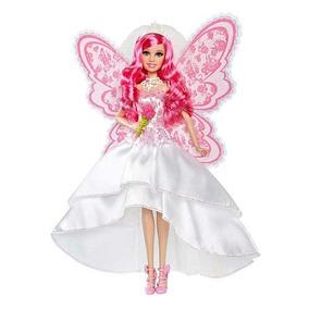 Barbie Un Secreto De Hadas Muñeca Vestida De Novia