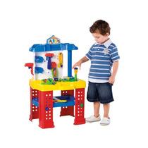 Kit Ferramentas Bancada Brinquedo Oficina Infantil Calesita