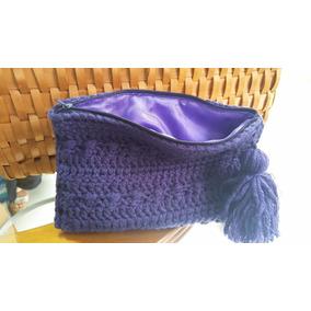 Bolsas Cosmetiqueras Tejidas A Crochet En Estambre O Hilaza