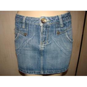 Mini Saia Jeans - Afront Nº 40