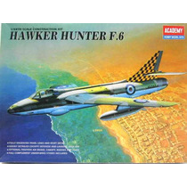 Avião Hawker Hunter F6 Academy 1/48 Kit Tipo Revell E Tamiya