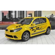Kit Sport Renault Sandero 1ª Geração 6 Peças Sem Aerofolio