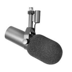 Microfone Shure Cardióide Para Gravação De Voz - Sm7b