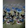 10 Lembrancinhas Mickey Baby Porta Recado Biscuit