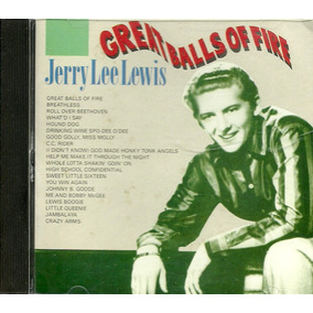 Cd Jerry Lee Lewis - Great Balls Of Fire