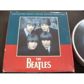Beatles - Kit Colecionador Fossil - Relógio + Chaveiro