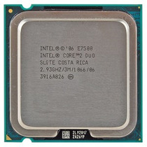 Processador Lga 775 Intel Core 2 Duo E7500 2,93 Frete Gratis