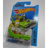 Carro The Simpsons Homer Homero Coleccion Hot Wheels Sp1