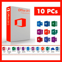 Office Professional Plus 2013 Para 10 Pc Licencia Original