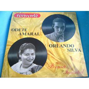 Lp Zerado Revivendo Odete Amaral Orlando Silva Encarte 7