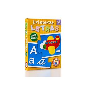 Ruibal Primeras Letras Juego Puzzle Didáctico + 3 Años
