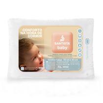 Travesseiro Baby - 100% Algodão - Santista