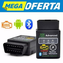 Mini Scanner Automotivo Obd2 Bluetooth Elm 327 Nova 2017 Pe