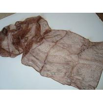 Echarpe Lenço Indiano Índia 100% Polyester Estampada