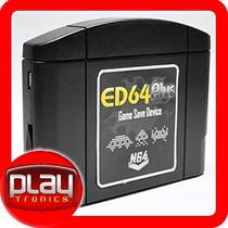 Cartucho Nintendo 64 Regravável Ed64 Plus - N64 Everdrive 64