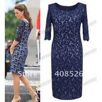 Vestido Importado Modelo Usado Pela Princesa Kate Middleton