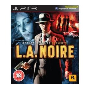 La Noire - Jogo Para Playstation 3 Midia Fisica Semi Novo