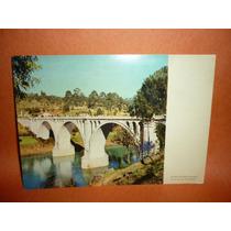 Cartão Postal Antigo Ponte De Duarte Pacheco Portugal .