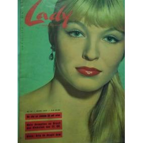 Revista Lady A Companheira Da Mulher Nº 10 - Julho 1957